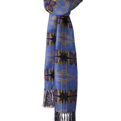 Whittington Mens Silk Scarf ~ 120/180cms