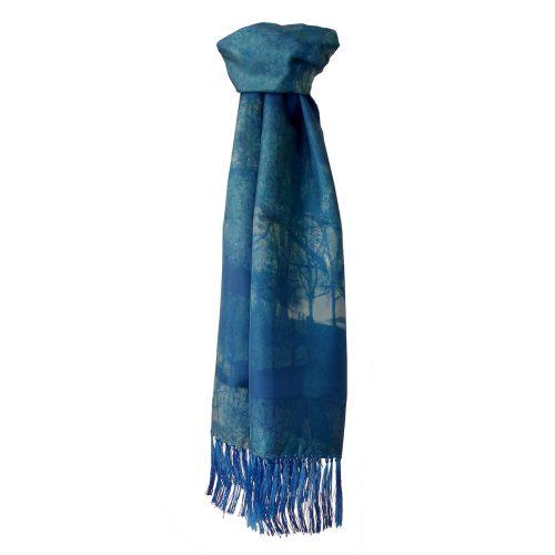 Hampstead Heath Mens Silk Scarf – 120cms/180cms