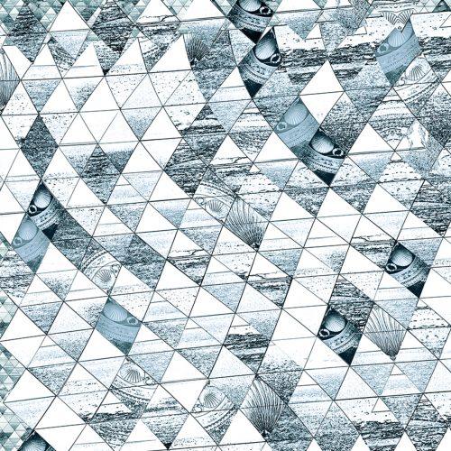 Frances Nutt London ~ Mask ~ Sea Diamond Teal