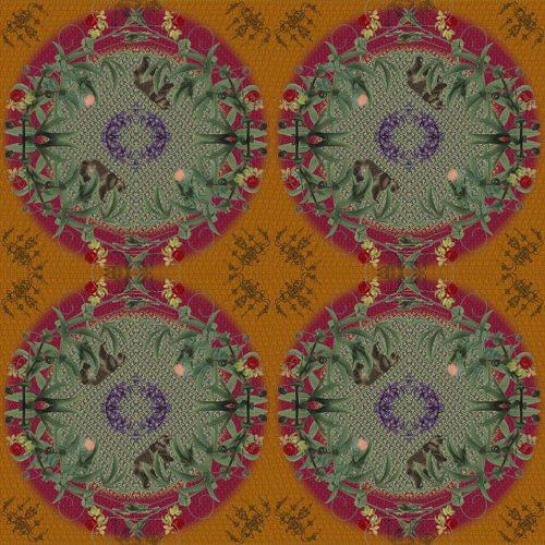 Lost Sister ~ Mens Silk Scarf 120/180cms